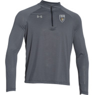 STL Under Armour Mens Stripe Tech ¼ Zip - Black