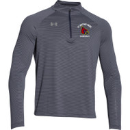 SBA Under Armour Mens Stripe Tech ¼ Zip - Navy (SBA-103-NY)