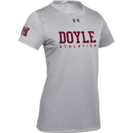 MDC Under Armour Women's Short Sleeve Locker 2.0 Tee - True Grey (MDC-022-GY)