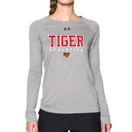 SVR Under Armour Women's Long Sleeve Locker Tee - Grey