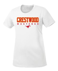 Crestwood Cross Country ATC Women's Pro Team SS Tee - White