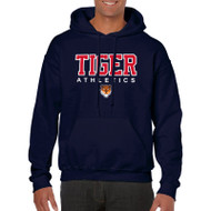 SVR Gildan Men's Hooded Sweatshirt - Navy