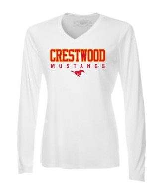 2330f2faa Crestwood Cross Country ATC Women's Pro Team Long Sleeve Tee - White ...