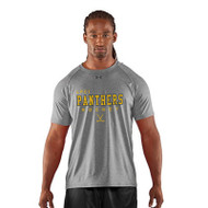LPC Under Armour Mens Hockey Short Sleeve Locker Tee - Grey