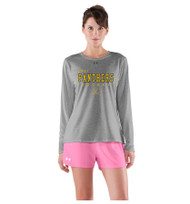 LPCI Under Armour Women's Long Sleeve Locker Tee - Grey