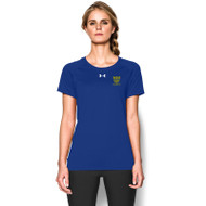 LPC Under Armour Womens Badminton Short Sleeve Locker Tee - Royal