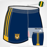 Adidas Sublimated Pro Fit LP Ladies Rugby Short - Navy Gold