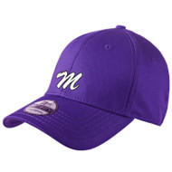 ANM New Era Structured Stretch Cotton Cap - Purple