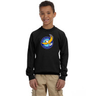 GWP Gildan Youth Heavy Blend Crewneck - Black (GWP-049-BK)