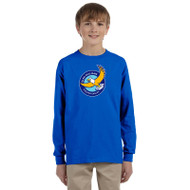 GWP Gildan Youth Ultra Cotton Long Sleeve Shirt - Royal (GWP-047-RO)