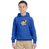 GWP Gildan Youth Heavy Blend Hooded Sweatshirt - Royal (GWP-048-RO)