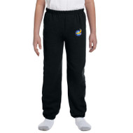 GWP Gildan Youth Heavy Blend Sweatpants - Black (GWP-050-BK)