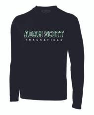 ASC ATC Men's Pro Team LS Tee - Track & Field - Black