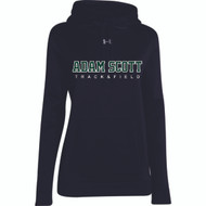 ASC Under Armour Women's Storm Team Hoodie - Track & Field - Black