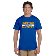 LPCI Panthers Gildan Ultra Cotton Swimming Short Sleeve Tee - Royal