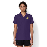 CCV Under Armour Women's Performance Polo - Purple