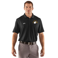 SIS Under Armour Men's Performance Team Polo - Black