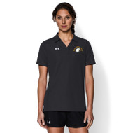 SIS Under Armour Women's Performance Team Polo - Black