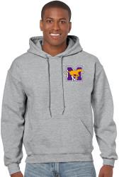 Gildan Heavy Blend Adult Hooded Sweatshirt - Grey ($30 tax included)