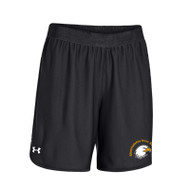 SIS Under Armour Women's Team Rival Shorts - Black