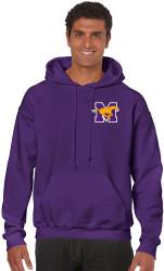 Gildan Heavy Blend Adult Hooded Sweatshirt - Purple ($30 tax included)