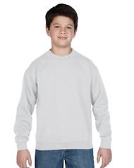 Peel DSB Gildan 18000B Youth Heavyblend Crewneck Sweatshirt - White