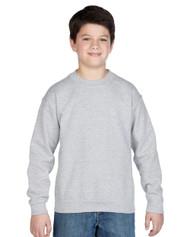Peel DSB Gildan 18000B Youth Heavyblend Crewneck Sweatshirt - Sport Grey