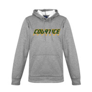 CSS Decoration II Ladies Hype Performance Hoodie - Grey Marble
