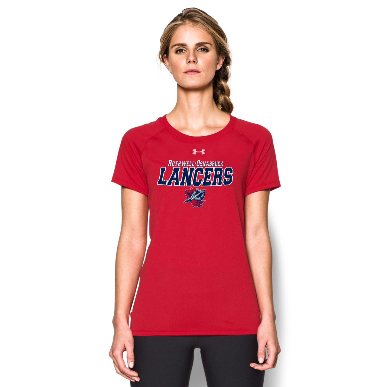f19eb3f8d1ee ROD Under Armour Women s Short Sleeve Locker Tee - Red
