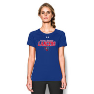 ROD Under Armour Women's Short Sleeve Locker Tee - Royal