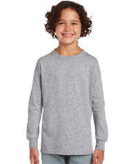 Peel DSB Gildan 2400-Ultra Cotton Youth Long-Sleeve T-Shirt - Grey