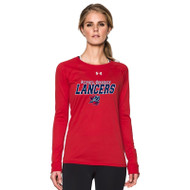 ROD Under Armour Women's Long Sleeve T Shirt - Red