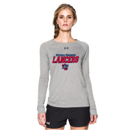ROD Under Armour Women's Long Sleeve T Shirt - Grey