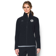 GCVI UA Women's Squad Woven Warm Up Jacket - Black