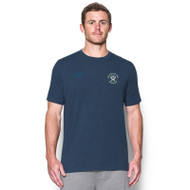 MCM Under Armour Men's Stadium Charged Cotton Tee - Navy