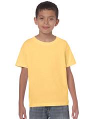 Peel DSB Gildan 5000B Heavy Cotton Youth T-Shirt - White 1
