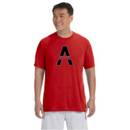 SAQ Gildan Men's Performance T-Shirt - Red