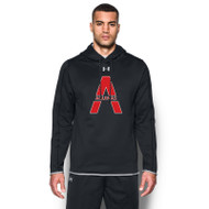 SAQ Under Armour Men's Double Threat Fleece Hoody - Black