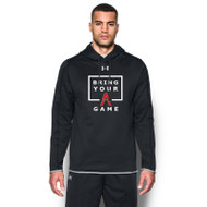 SAQ UA Men's Double Threat Hoody - Black