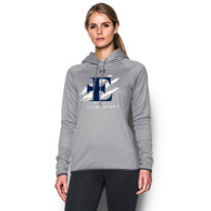 EDN Under Armour Women's Double Threat Fleece Hoody - True Grey (EDN-021-GY)
