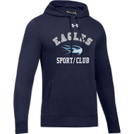 SMC Under Armour Men's Hustle Fleece Hoody - Navy (SMC-021-NY)