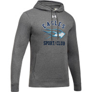 SMC Under Armour Men's Hustle Fleece Hoody - Carbon (SMC-021-CB)
