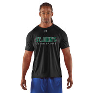 SJC Under Armour Men's Short Sleeve Locker Tee - Black (SJC-002-BK)