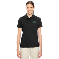 SJC Team 365 Women's Charger Performance Polo - Black (SJC-033-BK)