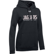 JP2 Under Armour Women's Hustle Hoodie - Black (JP2-021-BK)