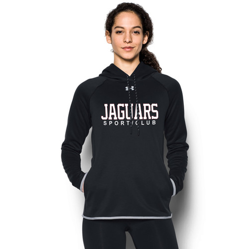JP2 Under Armour Women's Double Threat Hoody - Black/Steel (JP2-030-BK)