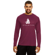 BCI Team 365 Men's Zone Performance Long Sleeve T-Shirt - Maroon (BCI-112-MA)