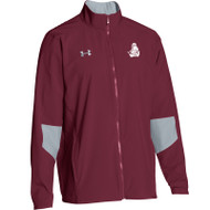 BCI Under Armour Men's Squad Woven Warm-Up Jacket - Maroon (BCI-101-MA)