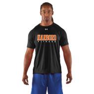 HCI Under Armour Men's Dri-fit Harbord Fitness Short Sleeve T-Shirt - Black (HCI-001-BK)