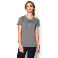 ESP Under Armour Women's Locker Short Sleeve T Shirt - Grey (ESP-021-GY)